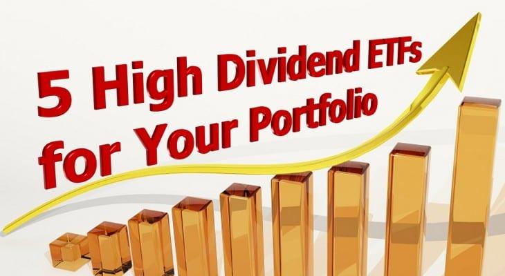 High Dividend ETFs