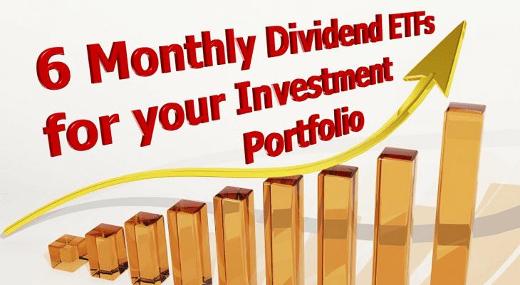 Monthly Dividend ETFs