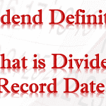 Dividend Record Date