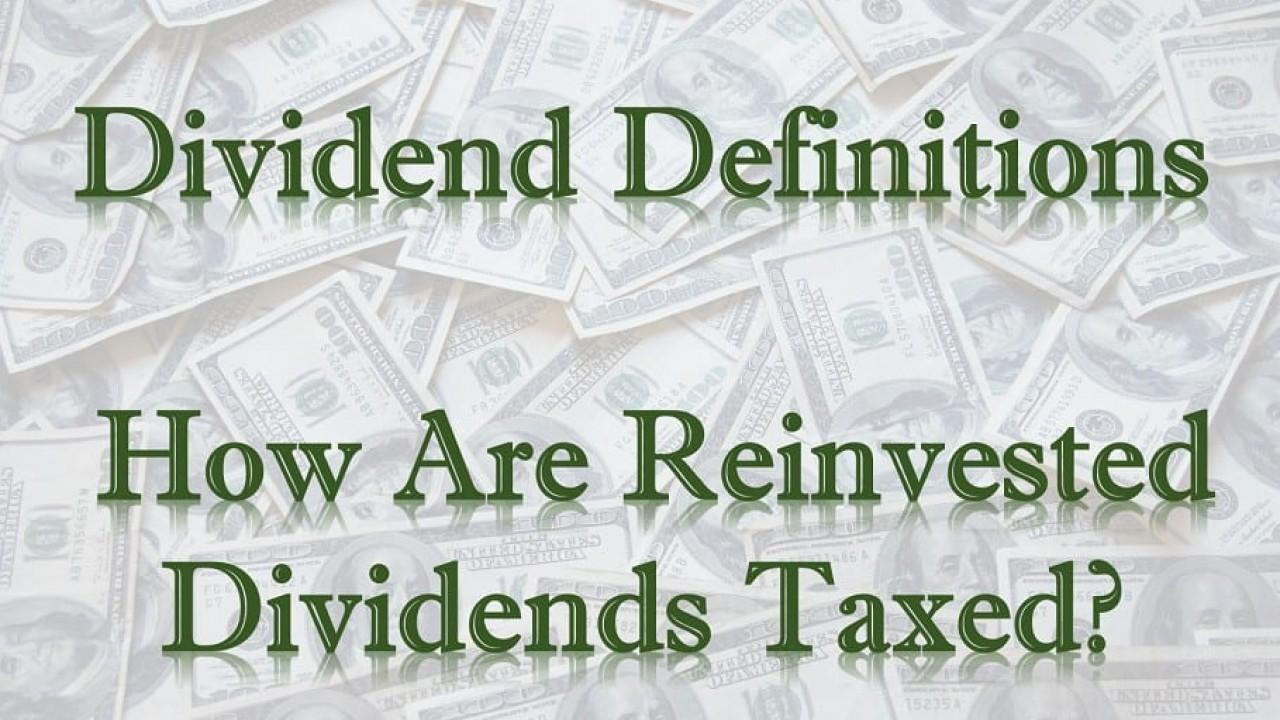 Dividend reinvestment plan tax treatment ukulele jaki broker forex