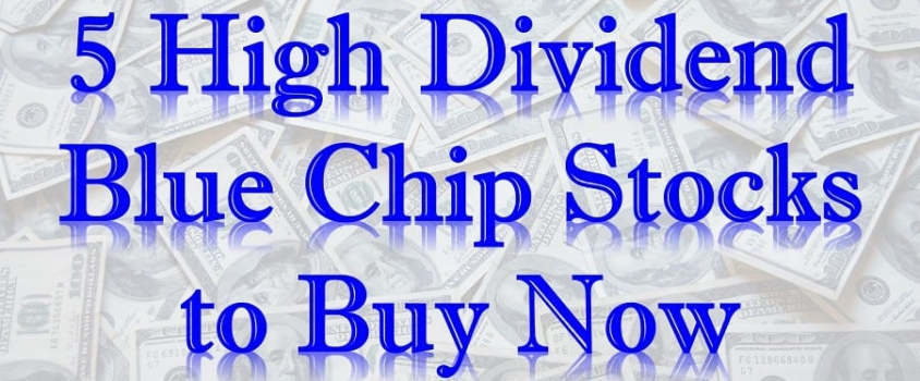5 High Dividend Blue Chip Stocks to Buy Now