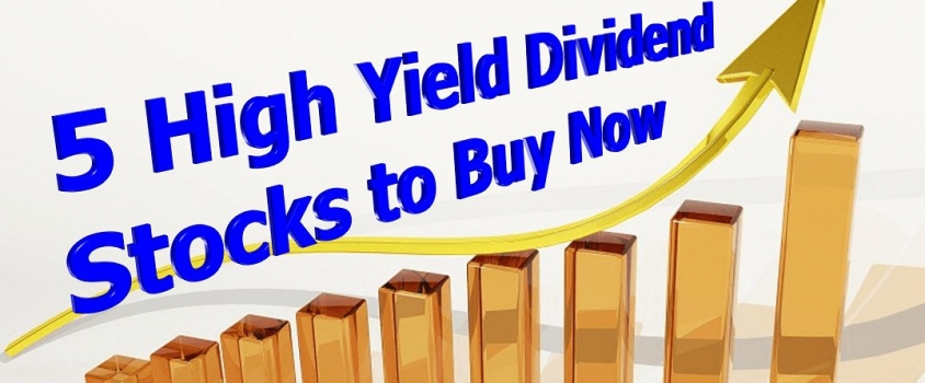 5 High Yield Stocks to Buy Now